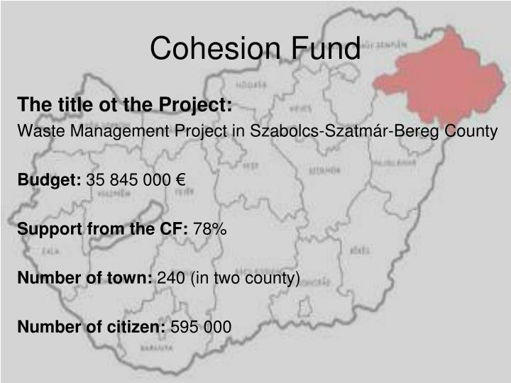 Cohesion Fund