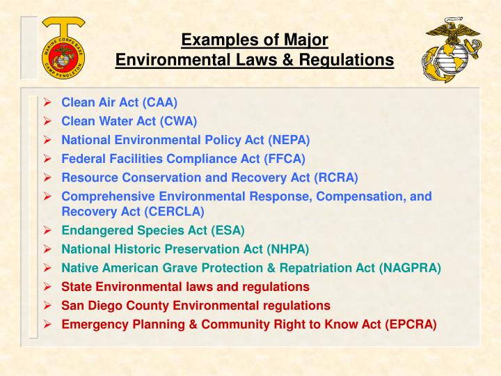 environmental regulations essay Sample environmental studies essay questions a life cycle analysis/carbon footprint of a product of your choice - plastic bags critically evaluate the operation of the exception to disclosure contained within regulation 12 (5)(b) of the environmental information regulations 2004 and whether one can draw the inference that the public interest.