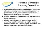 national campaign steering committee