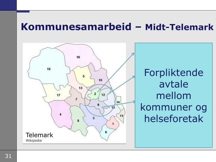 Kommunesamarbeid –