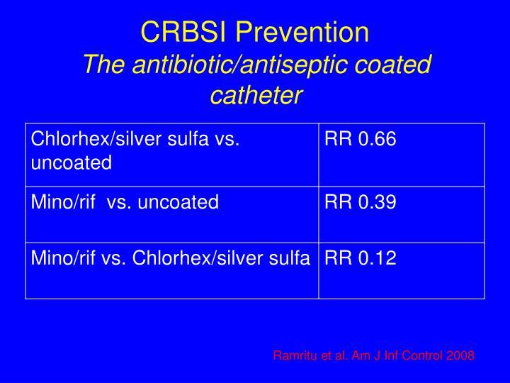CRBSI Prevention