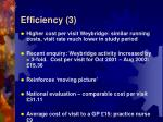 efficiency 3
