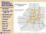 express commuter bus system