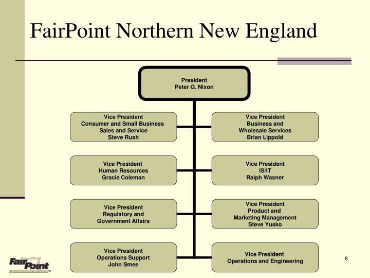 FairPoint Northern New England