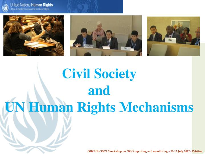 civil society and un human rights mechanisms n.