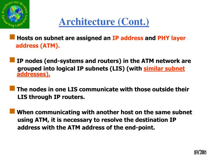 Hosts on subnet are assigned an