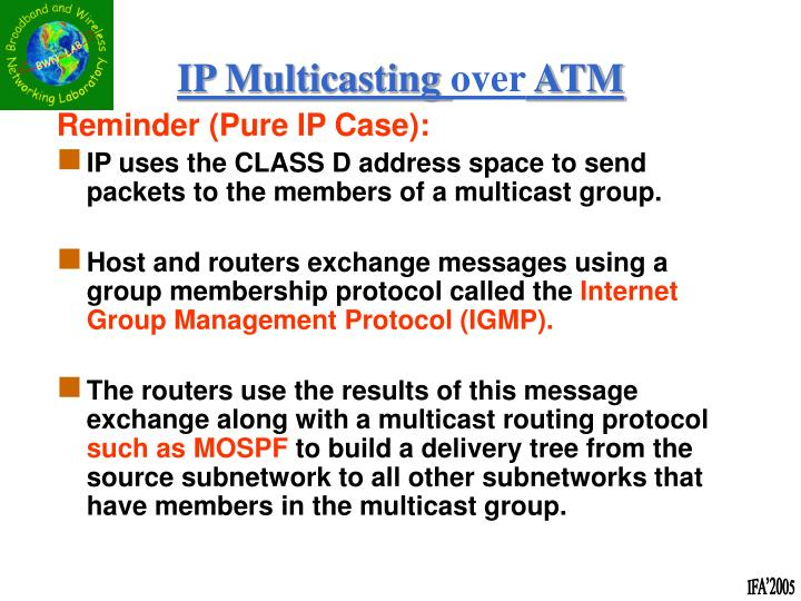 Reminder (Pure IP Case):