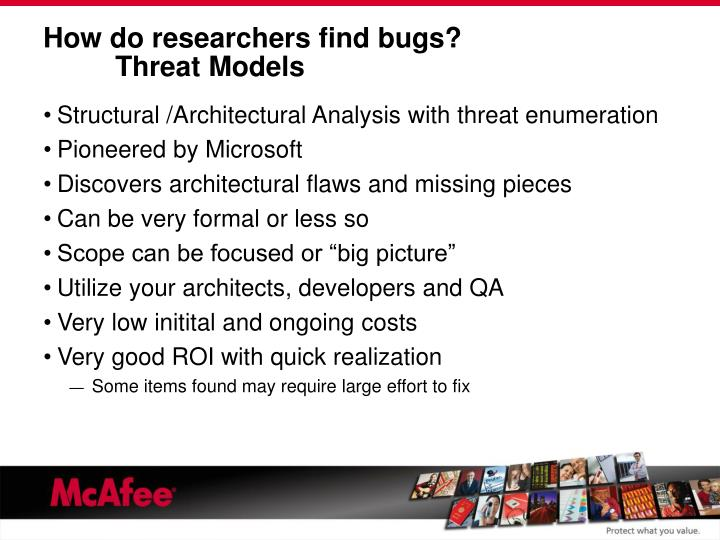 How do researchers find bugs?