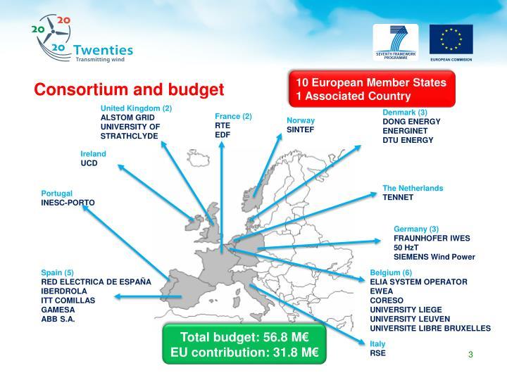 Consortium and budget