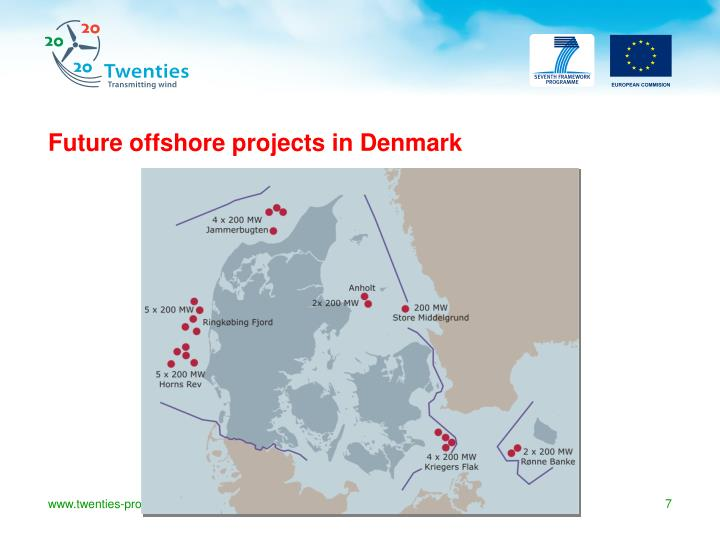Future offshore projects in Denmark