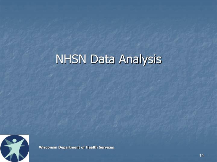 NHSN Data Analysis