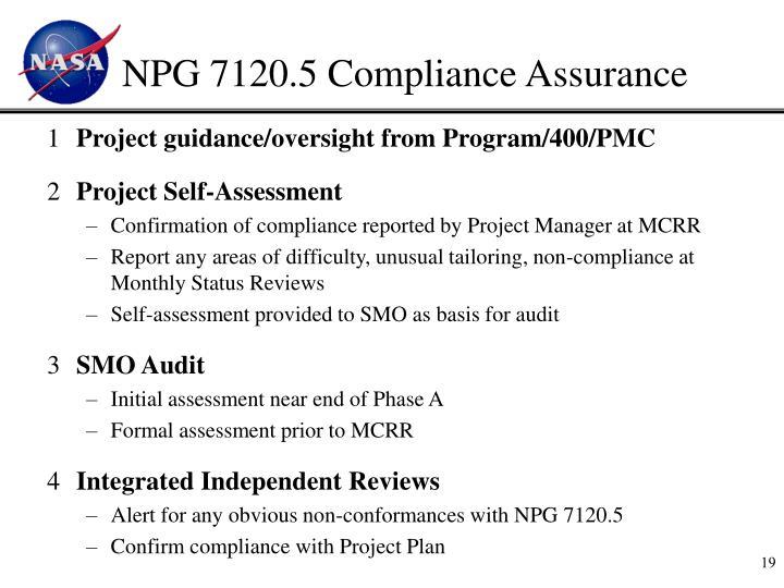 NPG 7120.5 Compliance Assurance