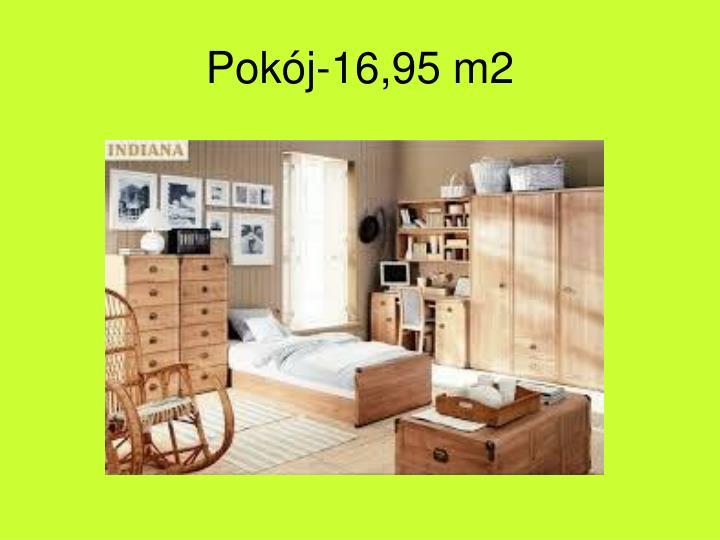 Pokój-16,95 m2
