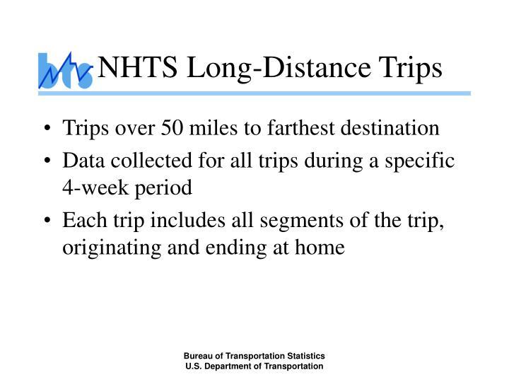 Nhts long distance trips