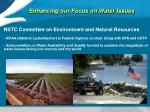 enhancing our focus on water issues