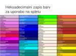 heksadecimalni zapis barv za uporabo na spletu2