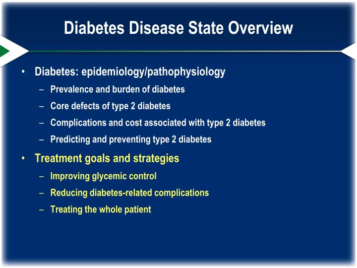 Diabetes Disease State Overview