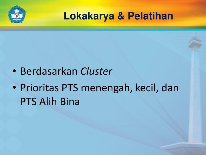 Lokakarya & Pelatihan