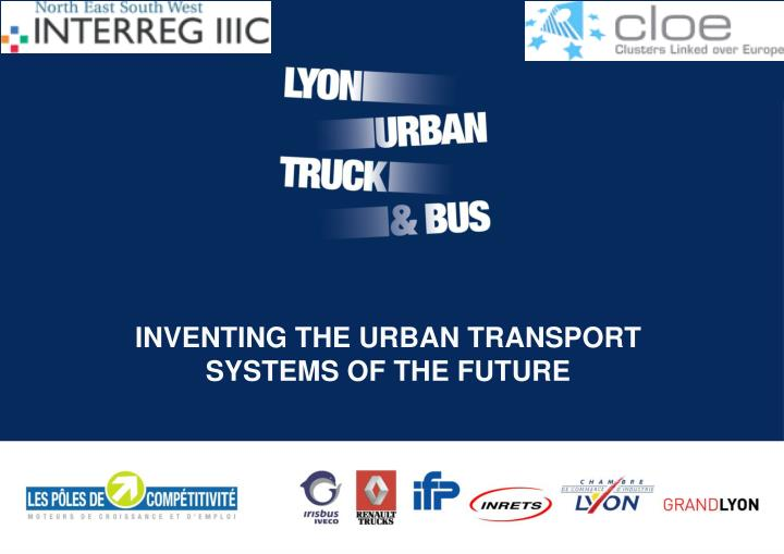 inventing the urban transport systems of the future n.