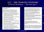 act the charging standard technical advantage the other guys