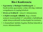 rio i konferencia