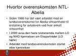hvorfor overenskomsten ntl abelia1