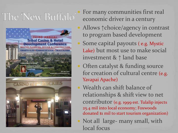 The 'New Buffalo'