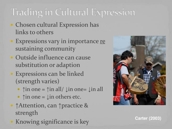 Trading in Cultural Expression