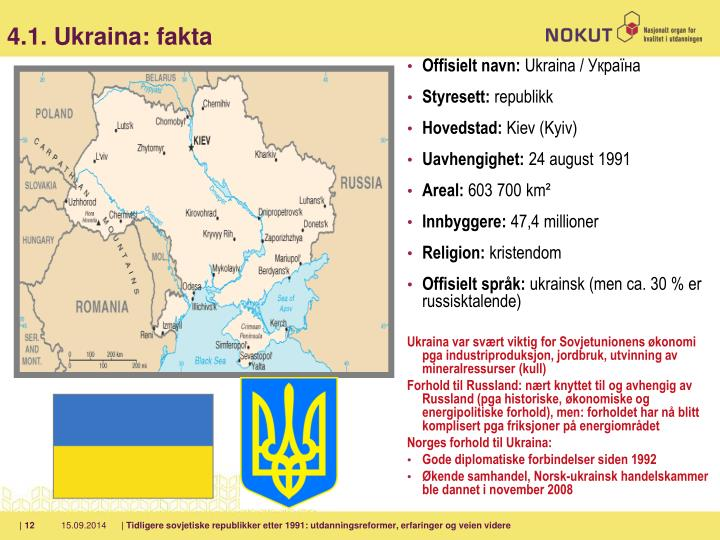4.1. Ukraina: fakta
