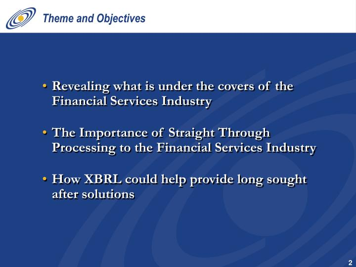 Theme and objectives