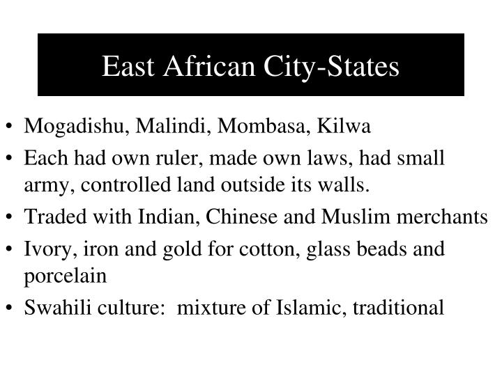 East African City-States