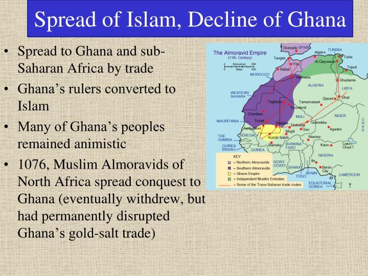 Spread of Islam, Decline of Ghana