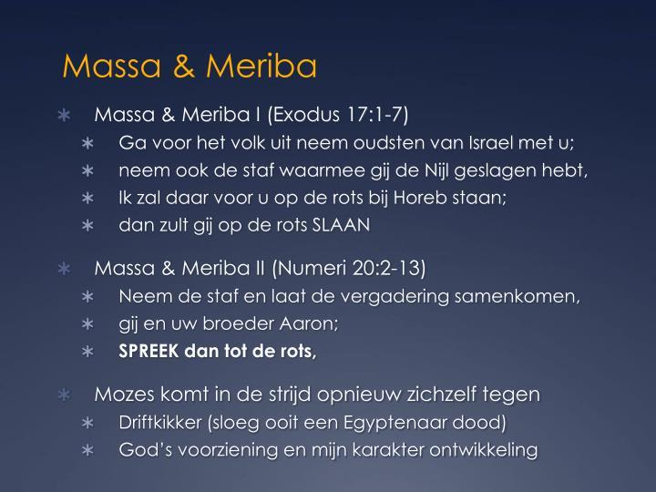 Massa & Meriba