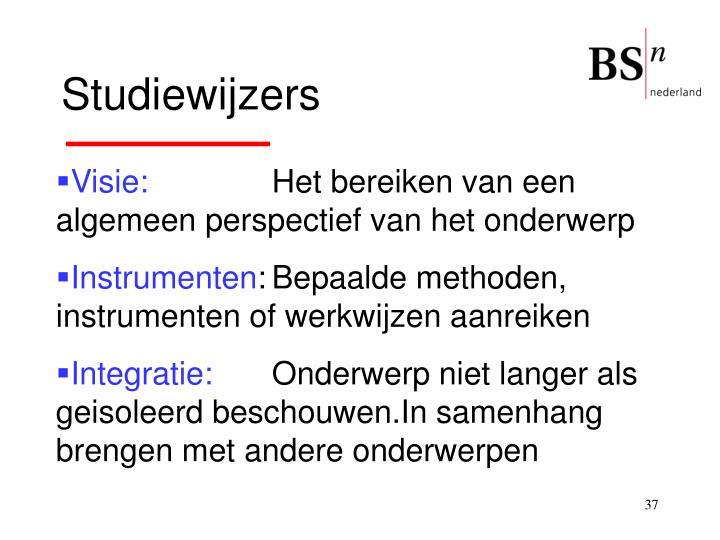 Studiewijzers