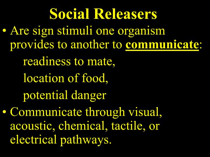 Social Releasers
