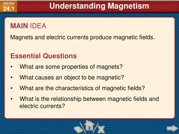 ch 24 magnetism 24 magnetism answers and solutions for chapter 24 reading check questions 1 hans christian oersted in a high-school classroom noted how a current affects a.