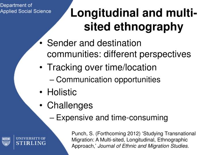 multi sited ethnography definition
