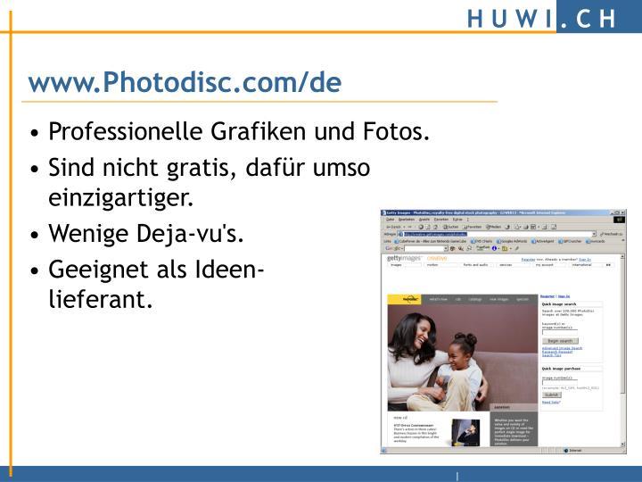 www.Photodisc.com/de