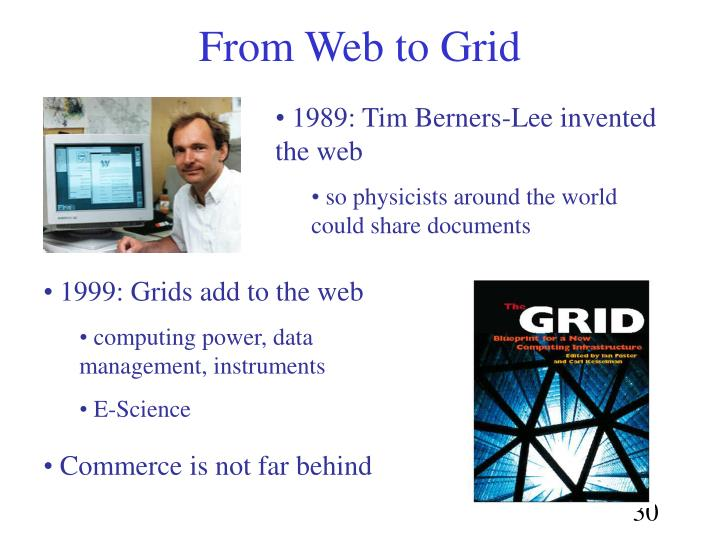 1989: Tim Berners-Lee invented the web