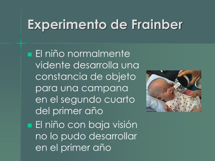 Experimento de Frainber