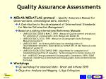 quality assurance asses s ments