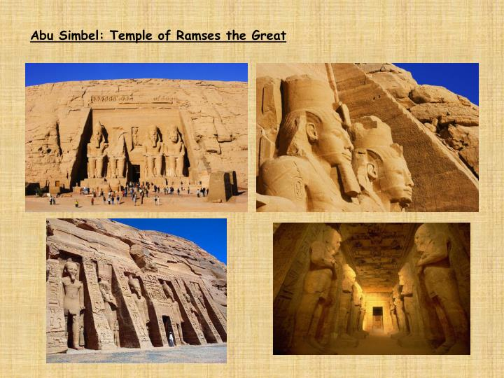 Abu Simbel: Temple of Ramses the Great