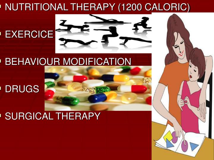 NUTRITIONAL THERAPY (1200 CALORIC)