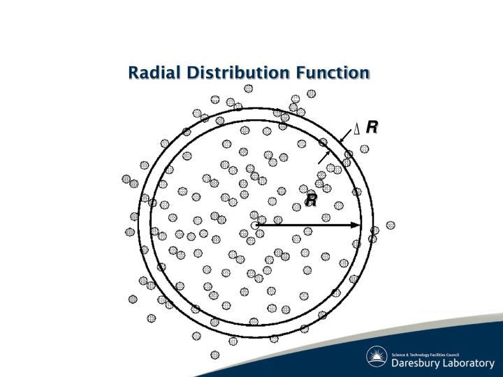 Radial Distribution Function