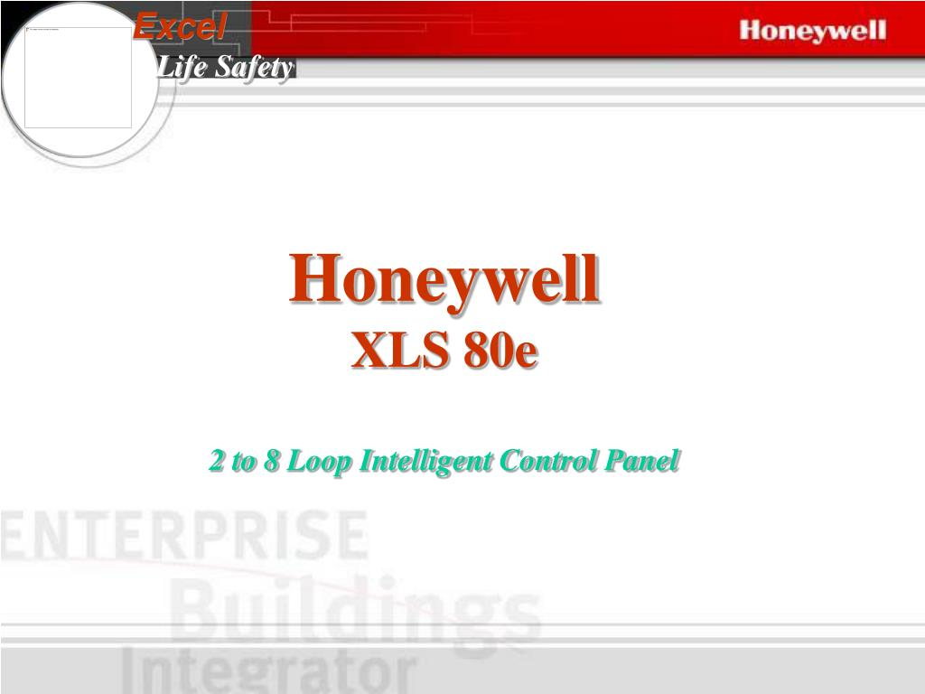 Ppt Honeywell Xls 80e 2 To 8 Loop Intelligent Control Panel Smart Vfd Manual Powerpoint Presentation Id4439100