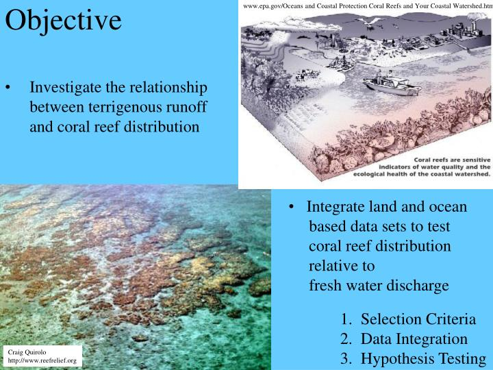 www.epa.gov/Oceans and Coastal Protection Coral Reefs and Your Coastal Watershed.htm