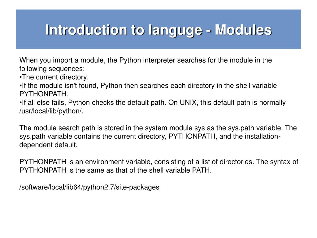 PPT - Python Crash Course Functions , Modules PowerPoint