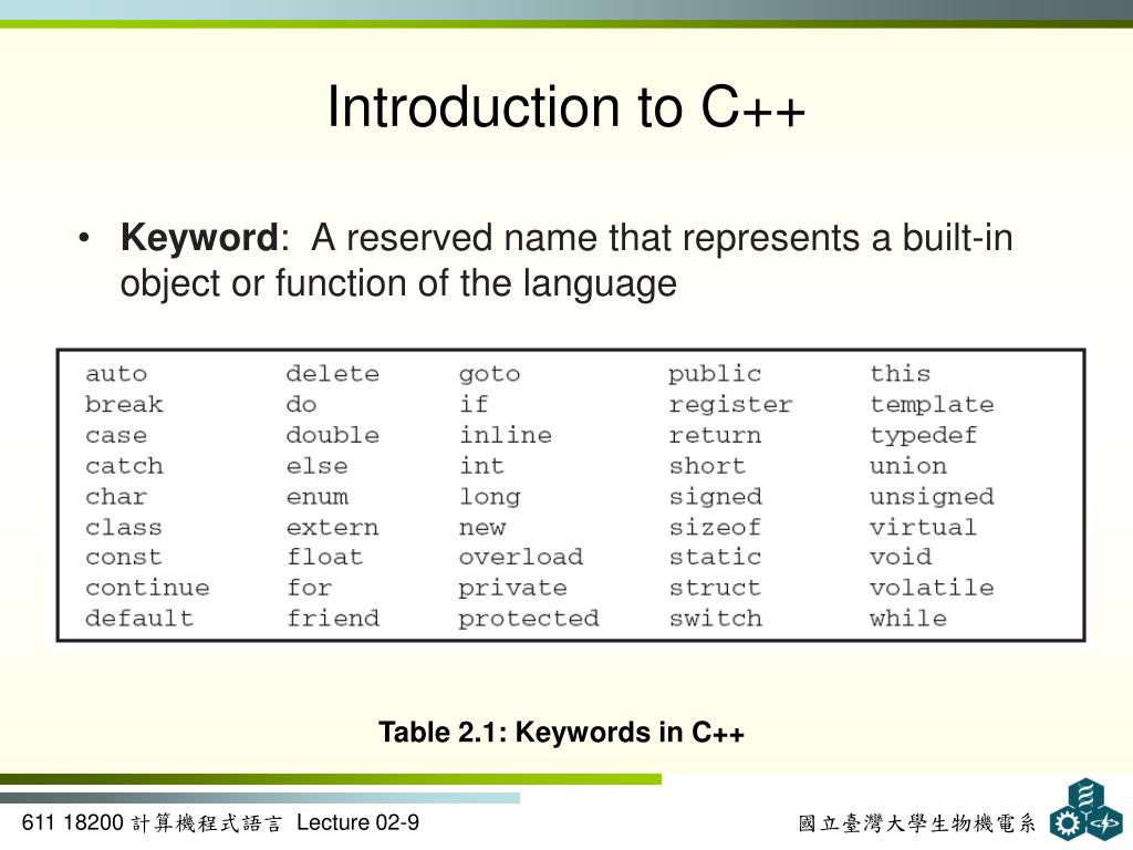 PPT - Problem Solving Using C++ PowerPoint Presentation - ID