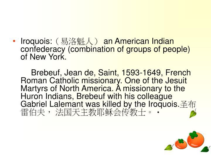 Iroquois:
