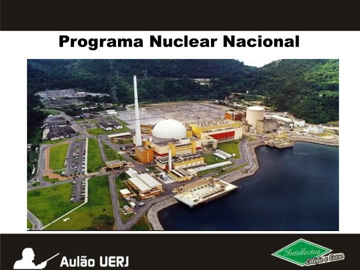 Programa Nuclear Nacional